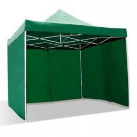 Gazebo RICHIUDIBILE 3x3mt VERDE IMPERMEABILE 24kg
